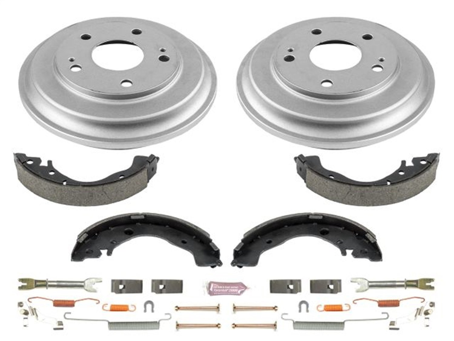 Power Stop Rear KOE15398DK Daily Driver Drum and Shoe Kits