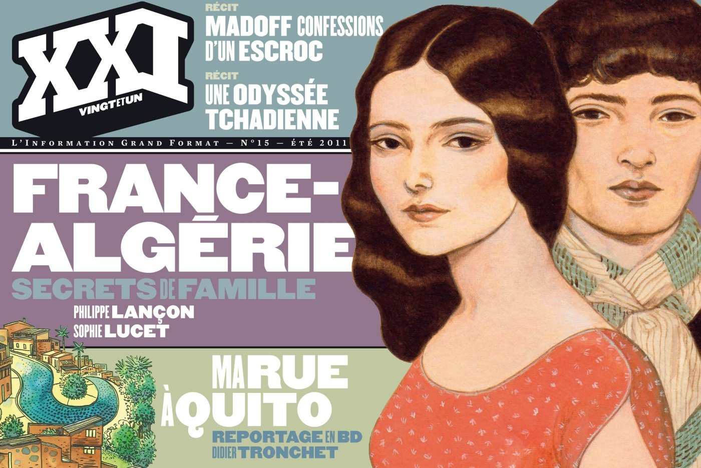 Amazon.fr - XXI N15 FRANCE ALGERIE : SECRETS DE FAMILLE - Collectif - Livres