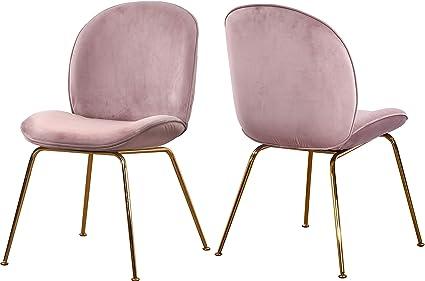 Fantastic Amazon Com Meridian Furniture 785Pink C Paris Collection Uwap Interior Chair Design Uwaporg