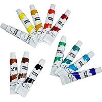DKB 707938 - Pinturas acrílicas (12 colores, 12