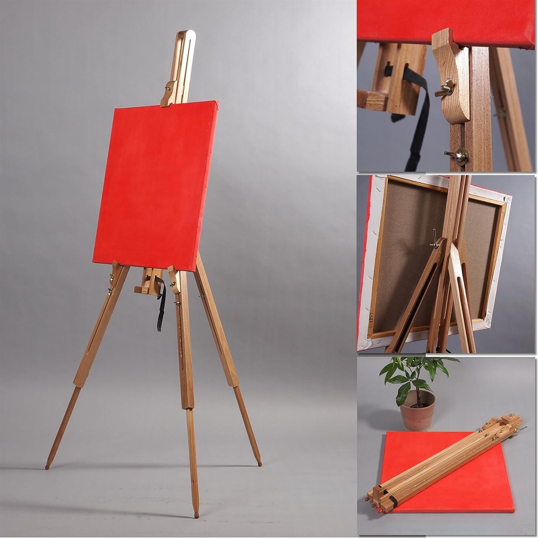 Cavalletto In legno per appoggiare tele o libri; XTRADEFACTORY ...