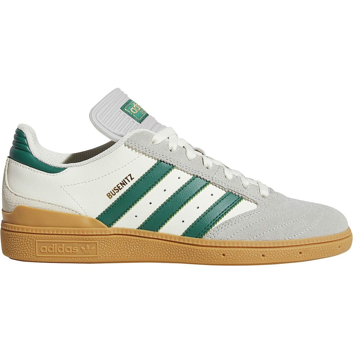 adidas Originals Men's Busenitz Sneaker 8.5 D(M) US|Grey/Collegiate Green/Gum