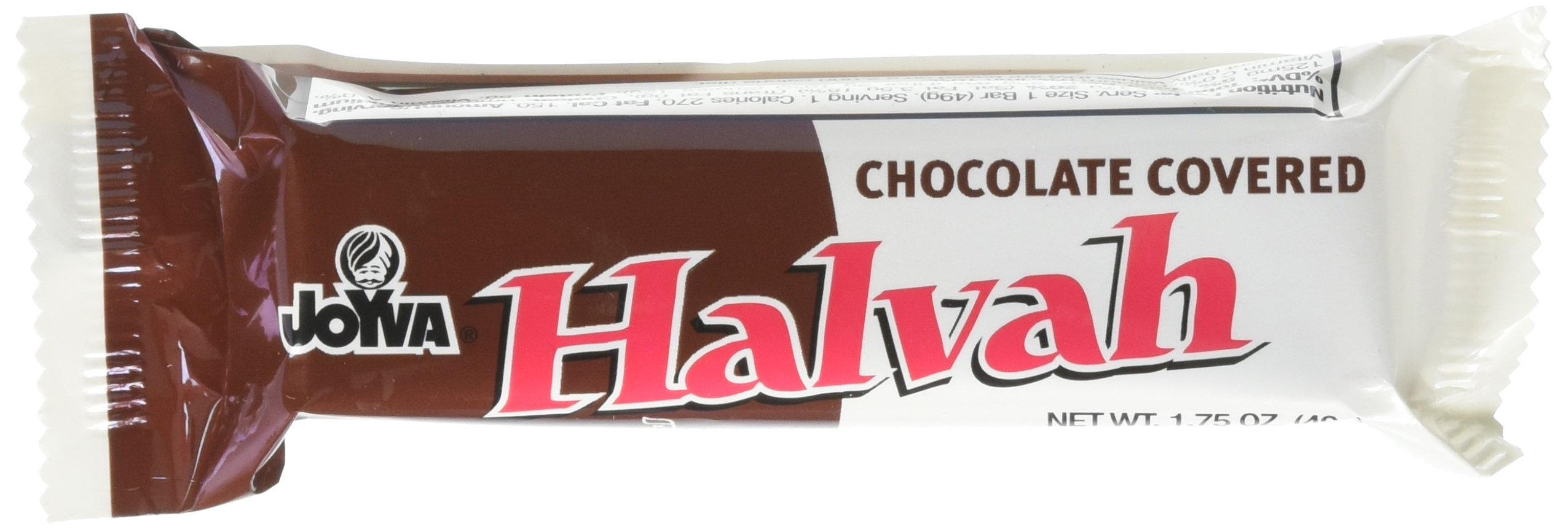 Joyva Chocolate Covered Halvah Bars, 1.75 Ounce,(36 count)