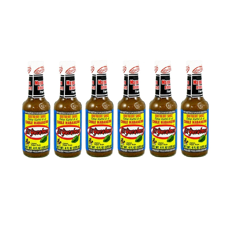 El Yucateco Sauce Habanero Xtra Hot (Six Pack)