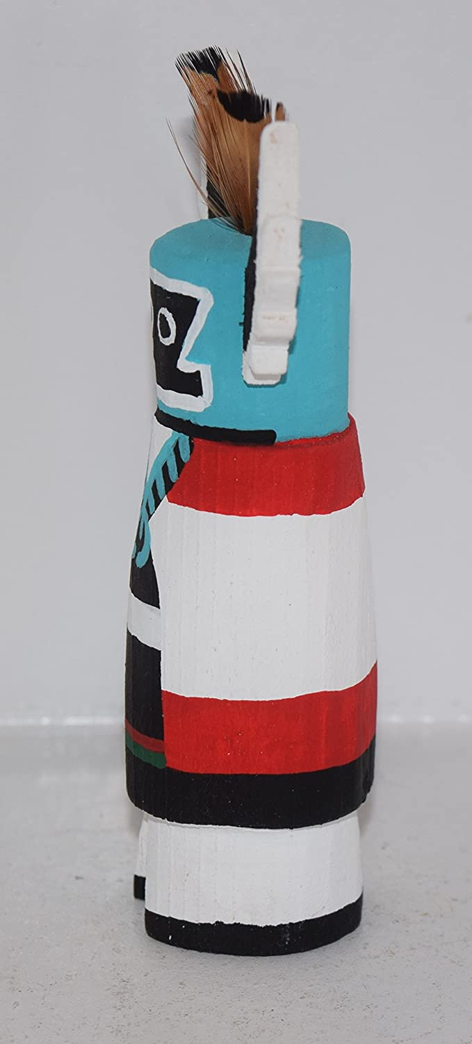 CROW MOTHER CARVING GRACE POOLEY ROUTE 66 KACHINA CARVING HOPI  FREE SHIP