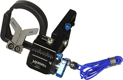Hamskea Hybrid Hunter Pro Micro Tune Rest Black Right Hand