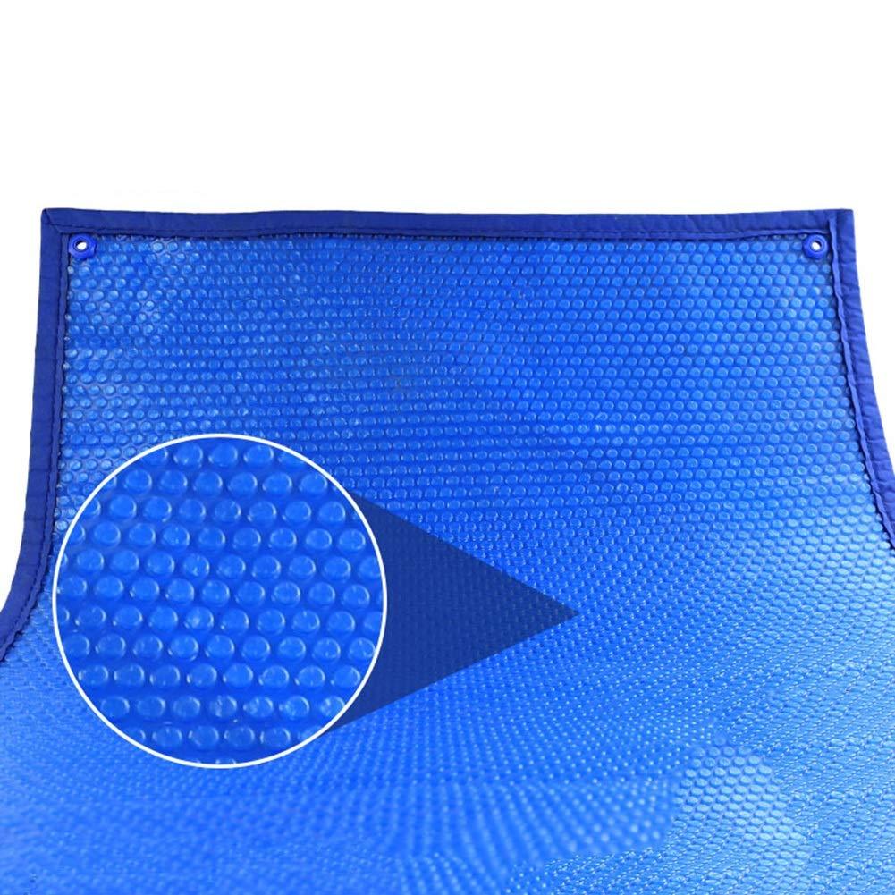 bleu 4×3m BÂche Couvertures de Piscine en PE - Couverture de Couverture de Chauffage Solaire Bleue Rectangle avec Oeillets, for intérieur et extérieur, 400g (Couleur   bleu, Taille   2×2m)