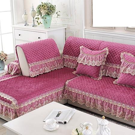 Sofa cushions,Fabric european living room non-slip combination sofa ...