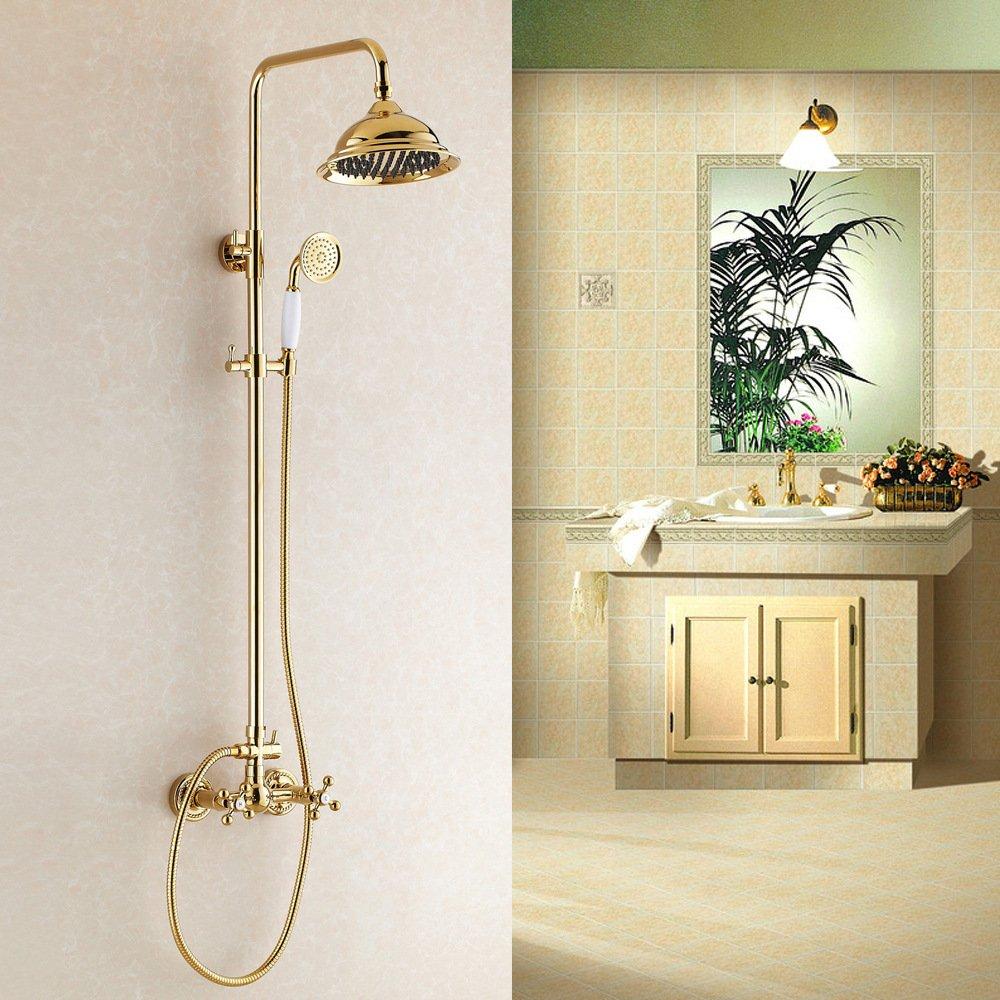 lovely shower kit brass european lift bathroom faucet