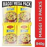 Maggi 2 min Masala Noodles, 12 Singles, 840g