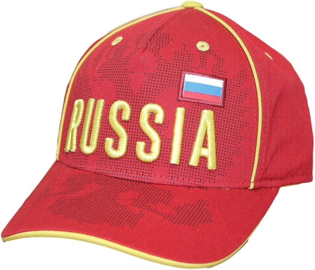 World Cup Soccer Mens Printed Structured Adjustable Hat