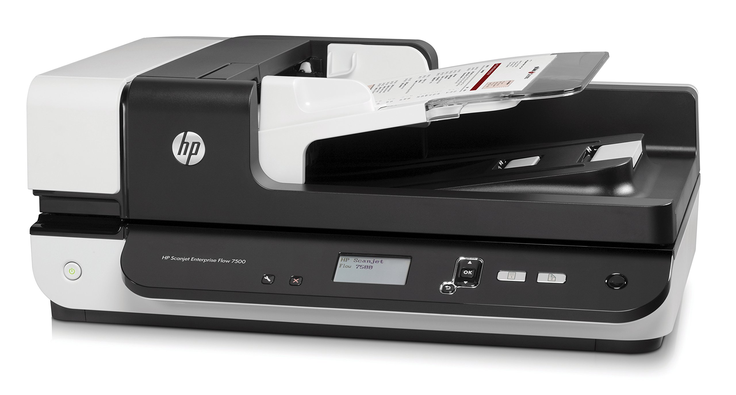 HP ScanJet Enterprise Flow 7500 Flatbed OCR Scanner by HP (Image #2)