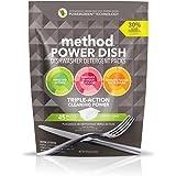 Method Naturally Derived Power Dish Dishwasher Detergent Packs, Lemon Mint, 45 Count