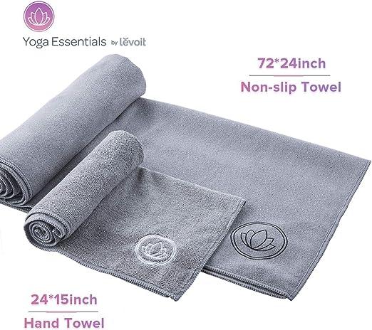 Amazon.com: LEVOIT Toalla de esterilla de yoga ...