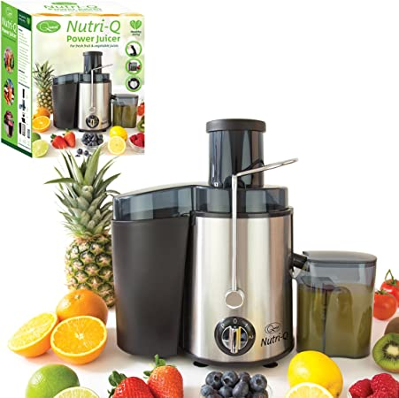 Nutri Q by Quest Juicer Juice Extractor Whole Fruit Juicer