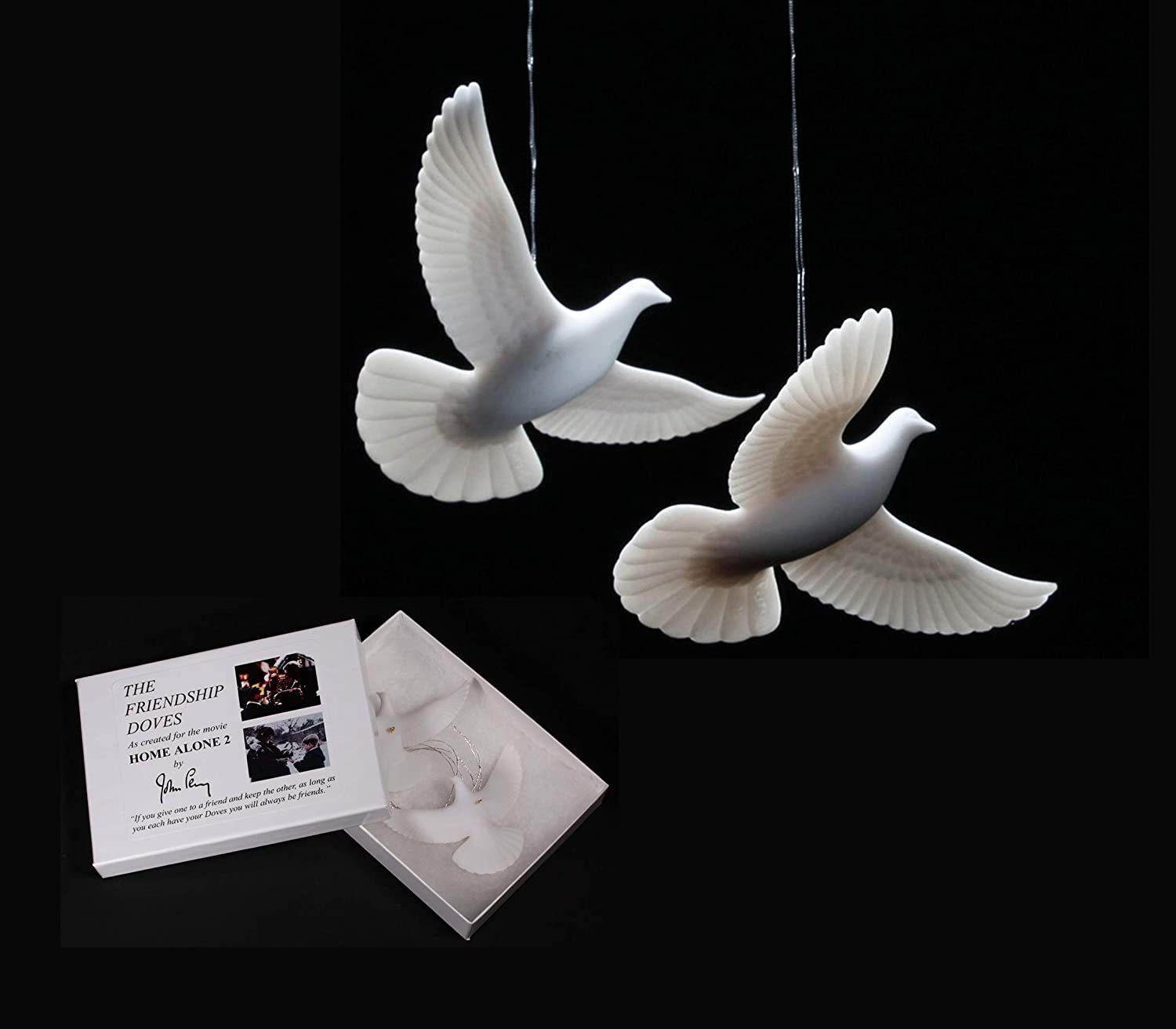HOME ALONE 2 DOVES AUTHENTIC & GENUINE from John Perry who made them for the movie