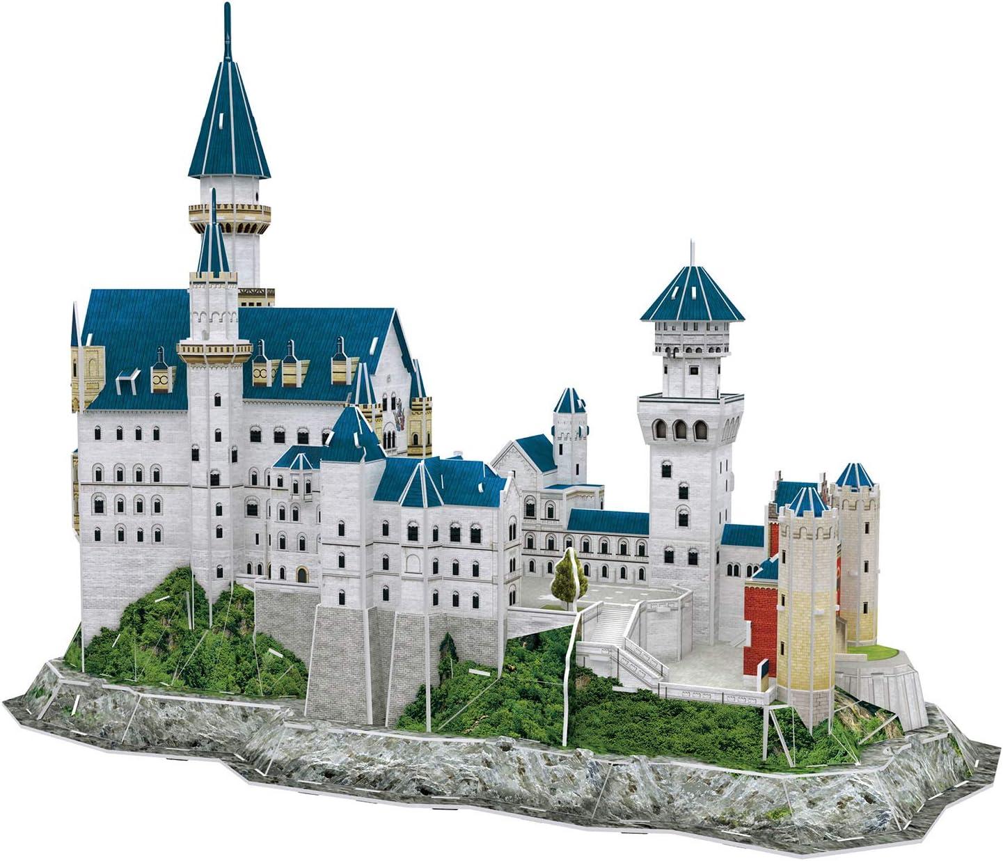 00205 Longitud 44,0cm 3D Puzzle Revell- Castillo de Neuschwanstein Multicolor