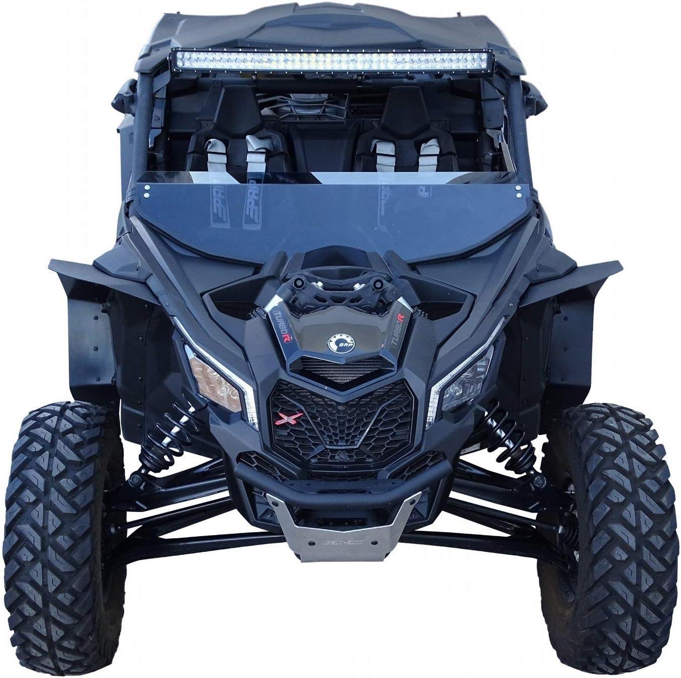 SR Starter Can-Am Maverick /& MAX /& XDS Mud Flaps Fender Extensions Kit Blue