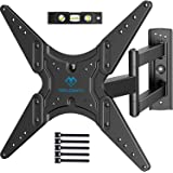 PERLESMITH TV Wall Mount for Most 26-55 Inch Flat Curved TVs with Swivels, Tilts & Extends 19.5 Inch - Wall Mount TV…