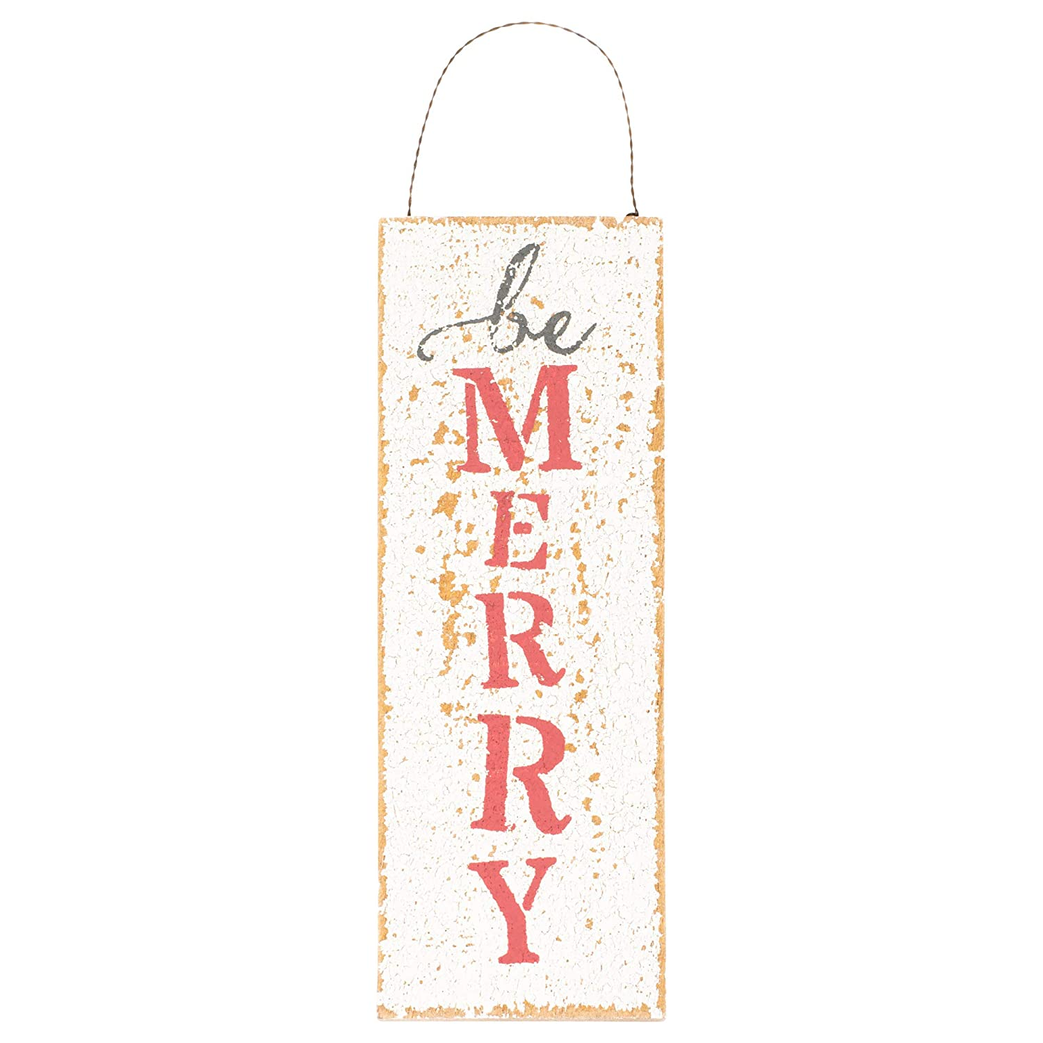 Honey and Me Large Be Merry Ornament