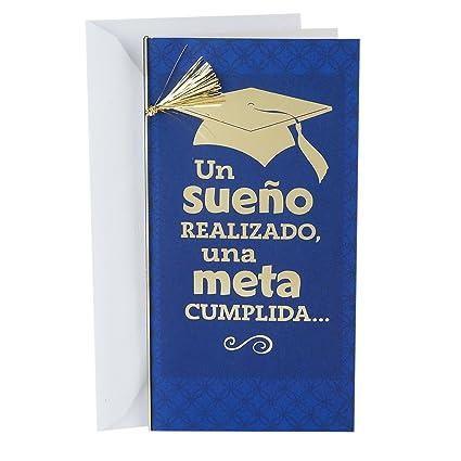 Hallmark - Tarjeta de vida español - Tarjeta de felicitación de ...