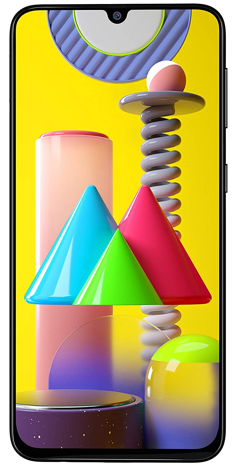 Samsung Galaxy M31 (Ocean Blue, 6GB RAM, 128GB Storage) - Get Flat Rs 2,500 Instant Discount with select bank cards - Limited Period Offer