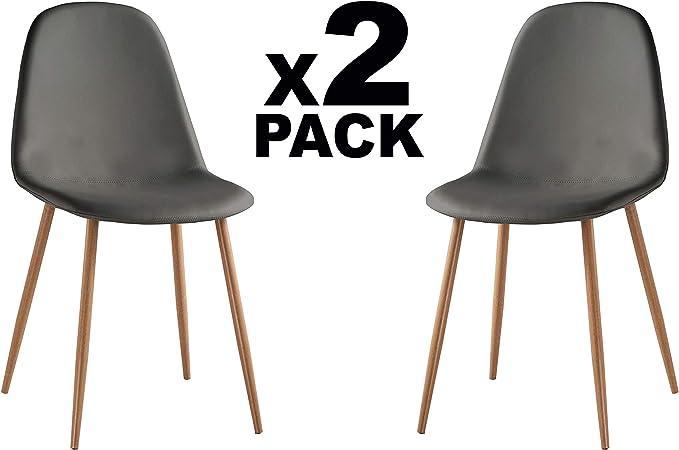 Adec - Craft, Pack de 2 sillas de Comedor, Silla de Salon o Cocina ...