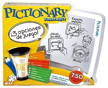 Mattel Games Pictionary Pizarra Magica Juego De Mesa Infantil