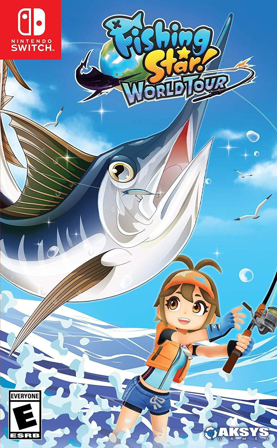 Amazon Com Fishing Star World Tour Nintendo Switch Aksys Games Video Games