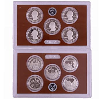 2012 S Clad AND Silver Proof Parks Quarters Set-10 Coins-No Box//COA-IN STOCK
