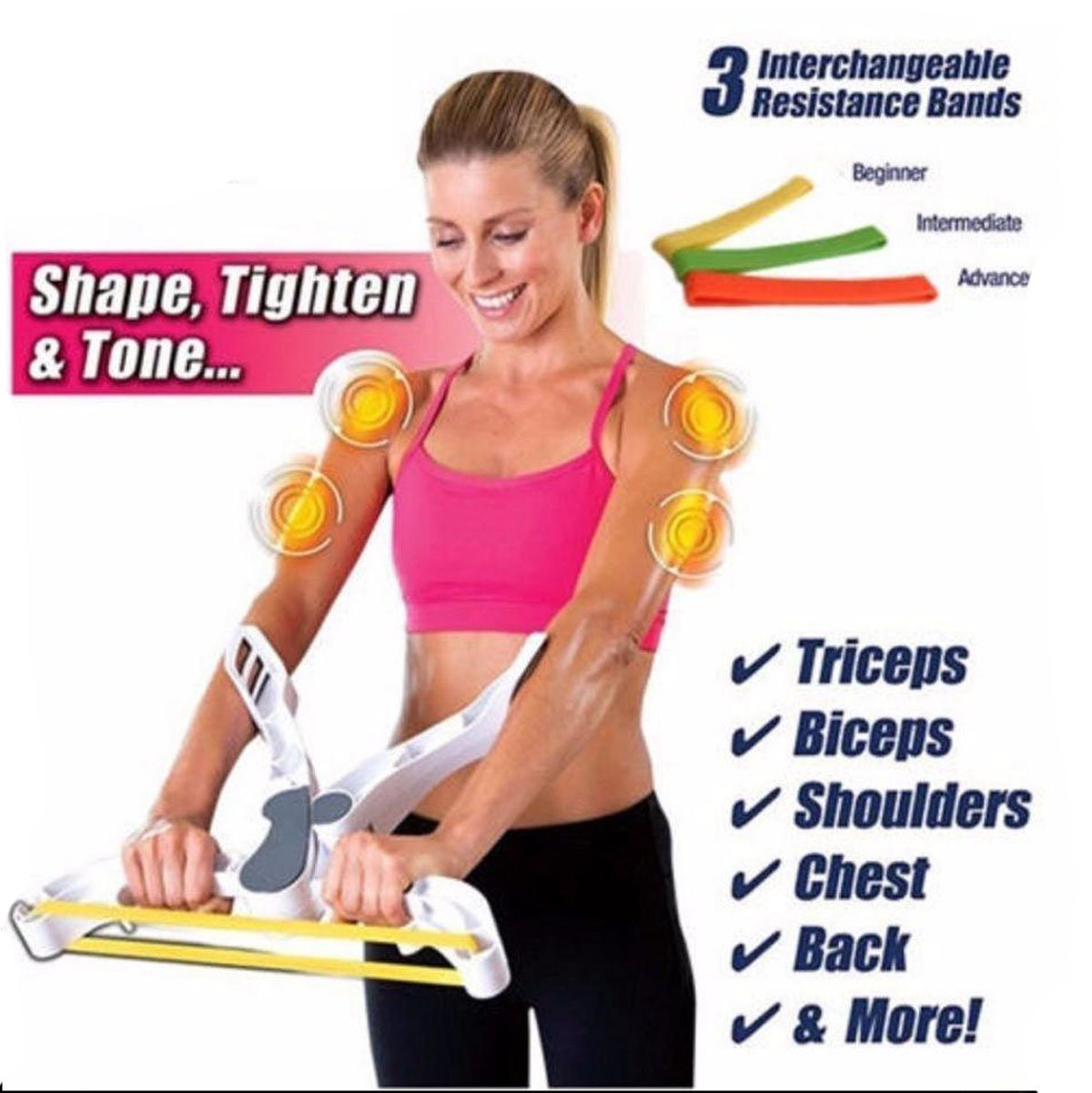 Wonder Arms - Arm Upper Body Workout Machine As Seen On TV YSAN