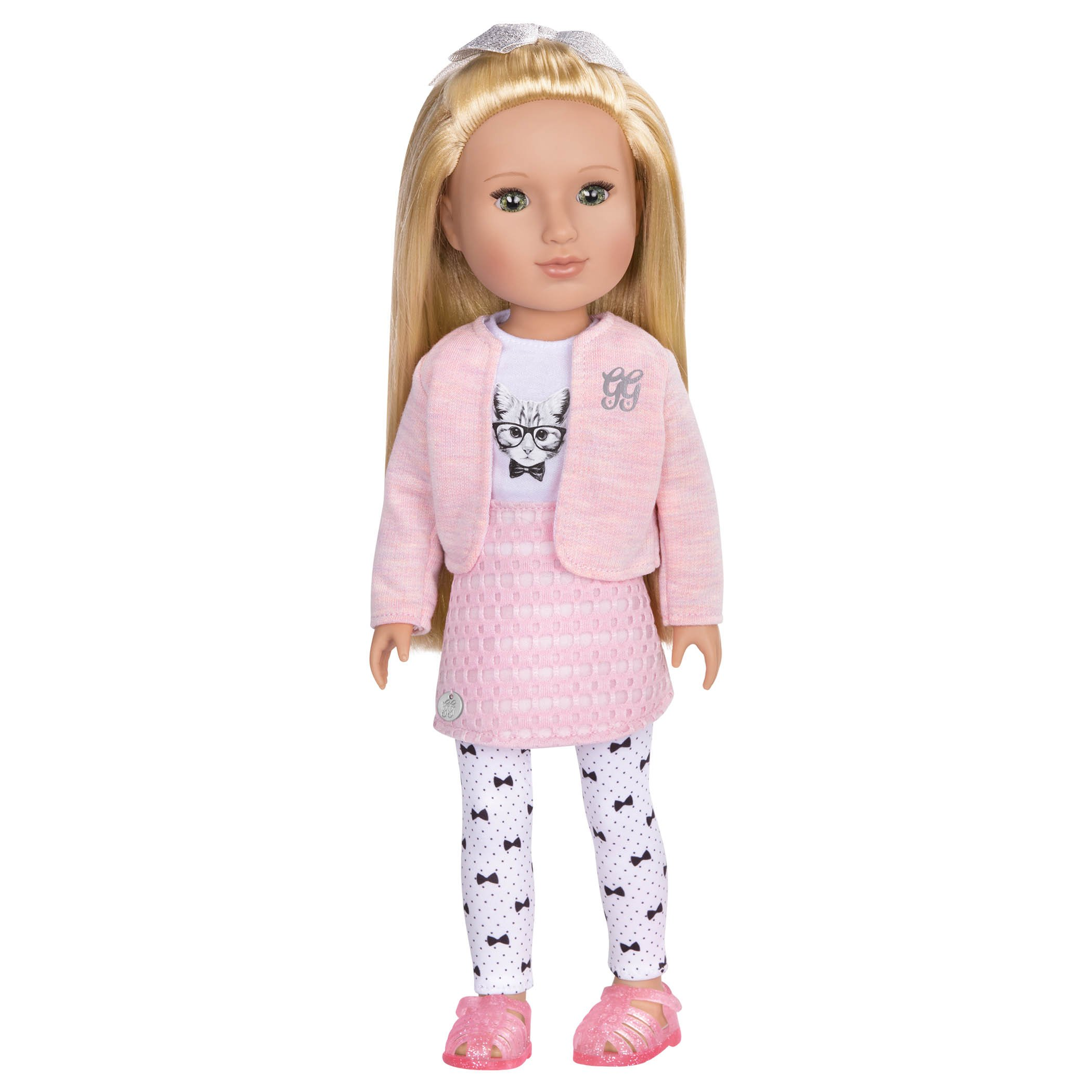 Glitter Girls by Battat – Fifer 14 inch Fashion Doll – Dolls for Girls Age 3 and Up – Doll, Clothing and Accessories – Children's Toys