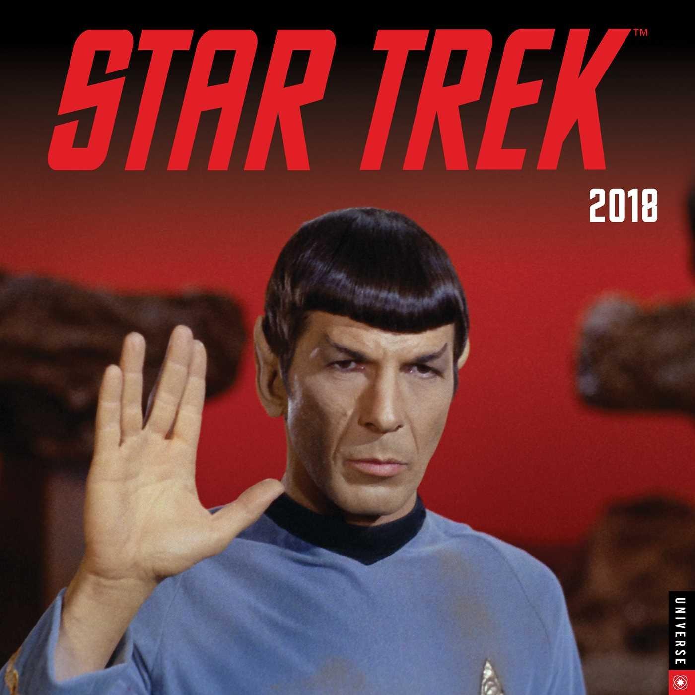 Star Trek 2018 Wall Calendar: The Original Series by Universe Publishing