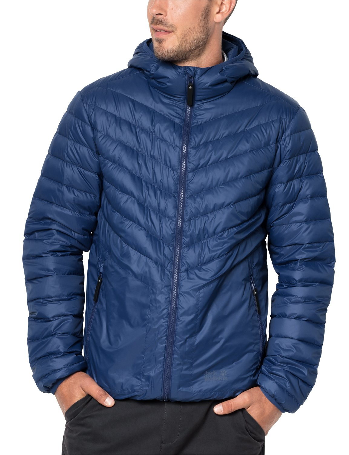 4a7c779d829 Jack Wolfskin Men's Vista Down Jacket blue (royal blue) X-Large . | eBay