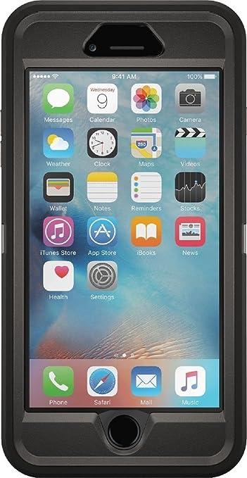 6 opinioni per OtterBox Defender Custodia per Apple iPhone 6s Plus, Nero