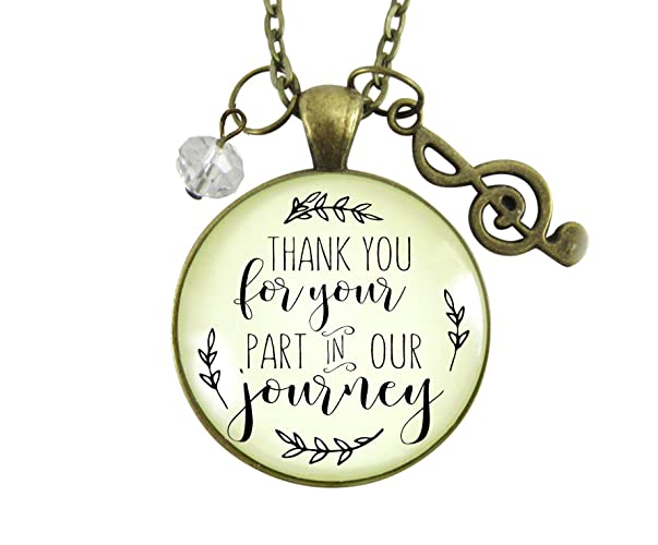 Amazon 36 Wedding Singer Gift Necklace Thank You For Your Part