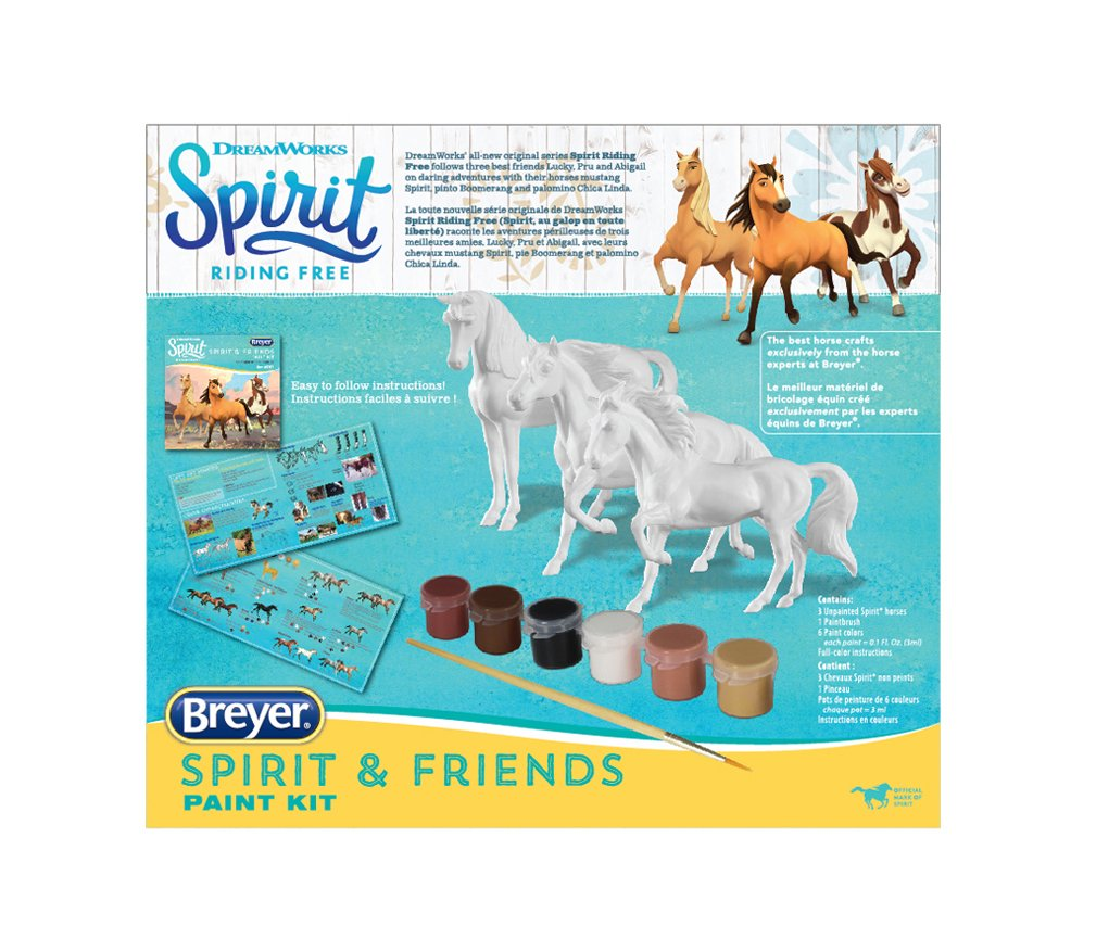 Breyer Spirit Riding Free Deluxe Spirit and Friends Horse Painting Craft Kit