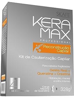 Kit Reconstrucción Capilar Keramax 4 aplicaciones