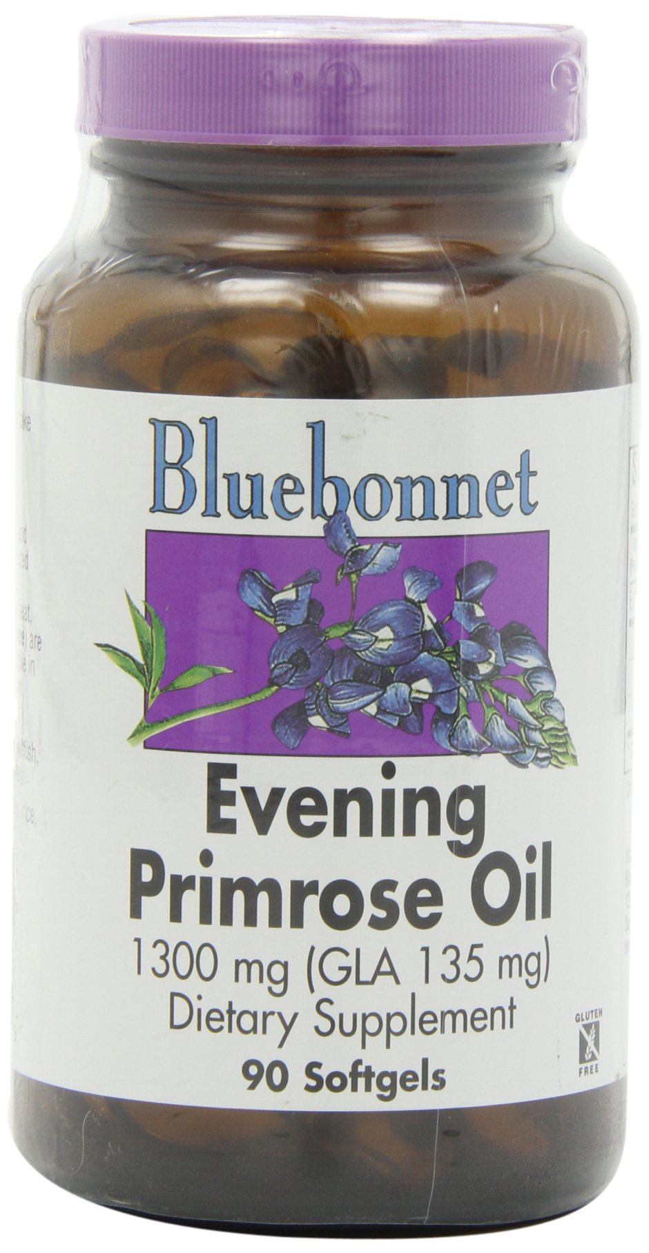 BlueBonnet Evening Primrose Oil 1300 mg (90 softgels) [Health and Beauty]