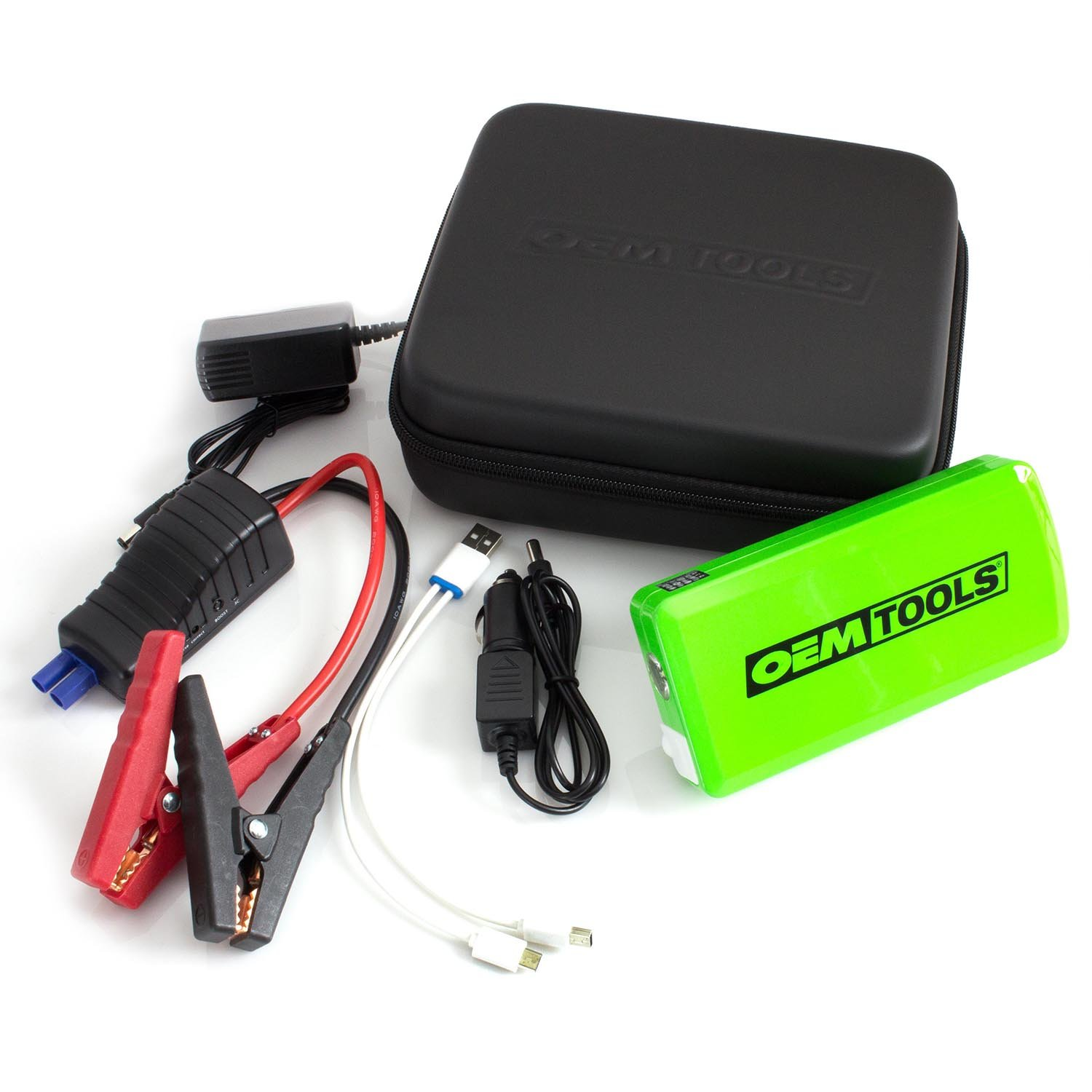 OEMTOOLS 24370 PPS Portable Personal Power Source with Jumper Cables