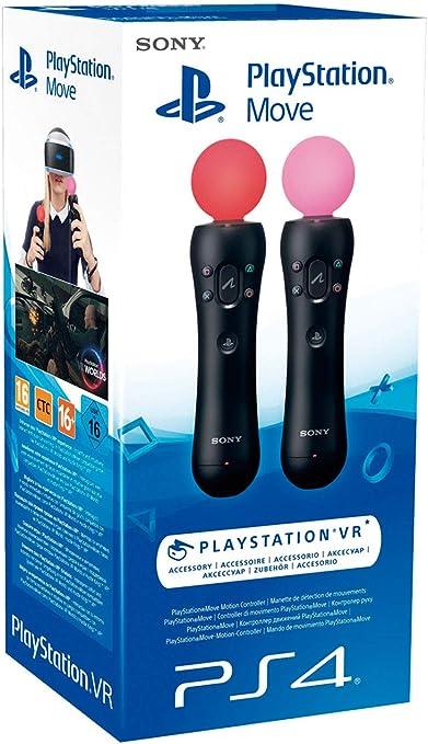 Sony Playstation Move Twin 4.0, 2x Mandos Move PS4 PS3: Amazon.es: Videojuegos