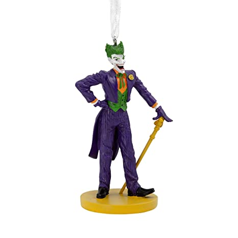 Joker Christmas Ornament.Hallmark Christmas Ornaments Dc Comics The Joker Ornament