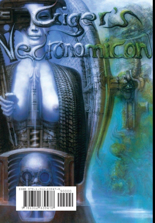 Necronomicon Ex Mortis H R Giger 9781312639478 Amazon Com