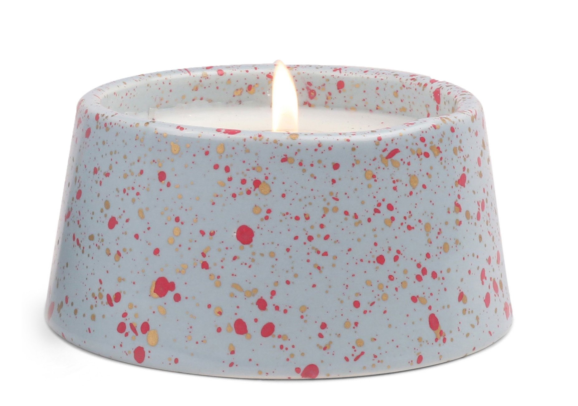 Paddywax Candles Confetti Collection Scented Soy Wax Blend, 5 oz, Cactus Flower