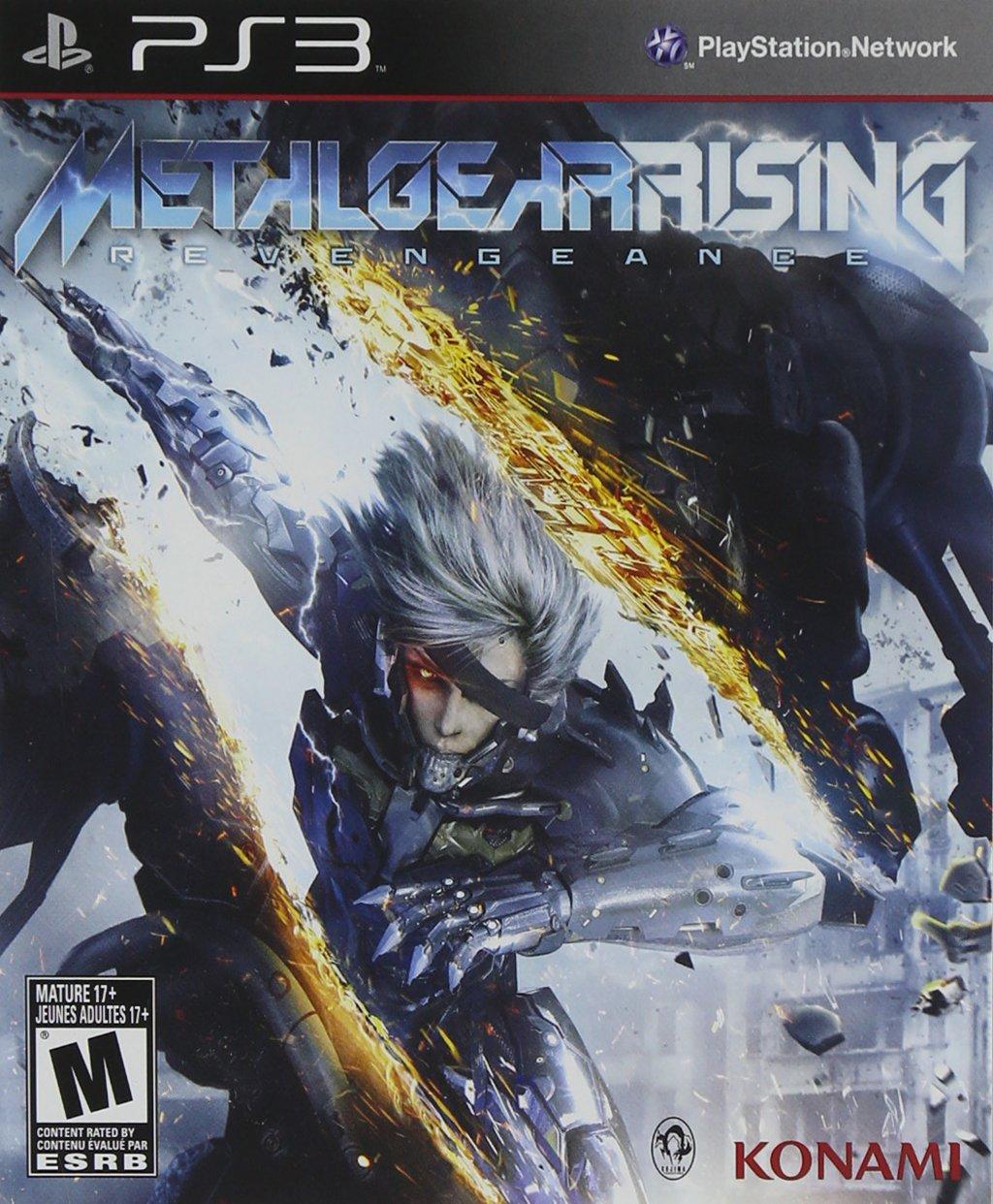 Konami Metal Gear Rising Revengeance - Juego: Amazon.es ...