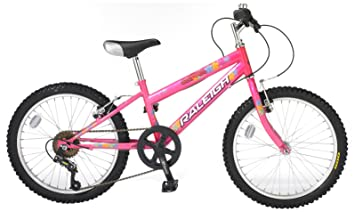 398ef1d2f72 Raleigh Sunbeam Girl s Mountain Bike - 20-Inch  Amazon.co.uk  Sports ...
