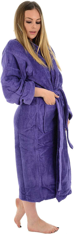 accappatoio super morbido Myshoestore/® accappatoio da bagno in cotone egiziano 100/% di lusso