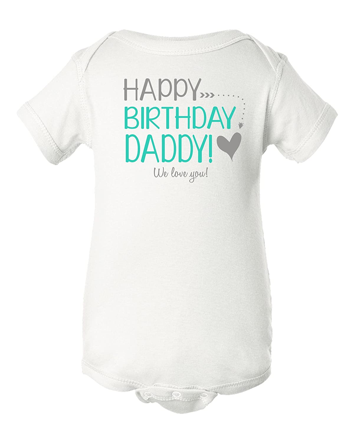 Amazon Intense Design Happy Birthday Daddy Baby Bodysuit Dads