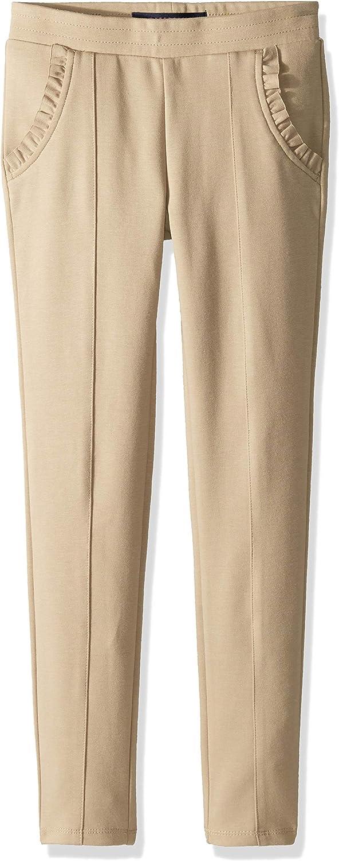 French Toast Girls Big Ruffle Knit Pull-on Pant