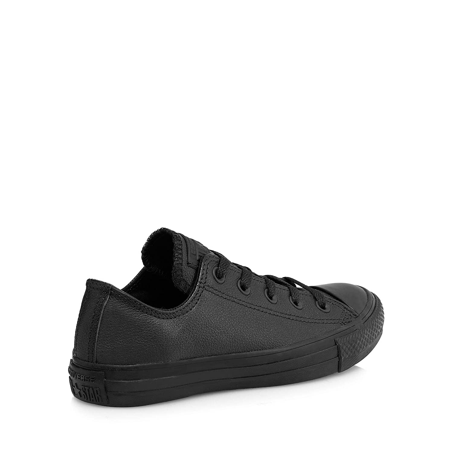 a37c4be9929 Converse Womens Black Leather  Chuck Taylor All Star Ox  Trainers  Converse   Amazon.co.uk  Clothing